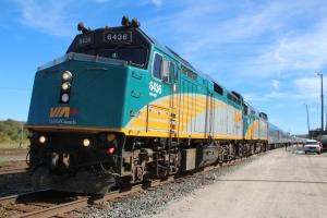 Train at the Hornepayne Station